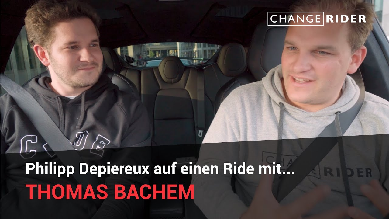 ChangeRider #23 Thomas Bachem: Vom Coding Kid zum Serial Entrepreneur und Universitätsgründer