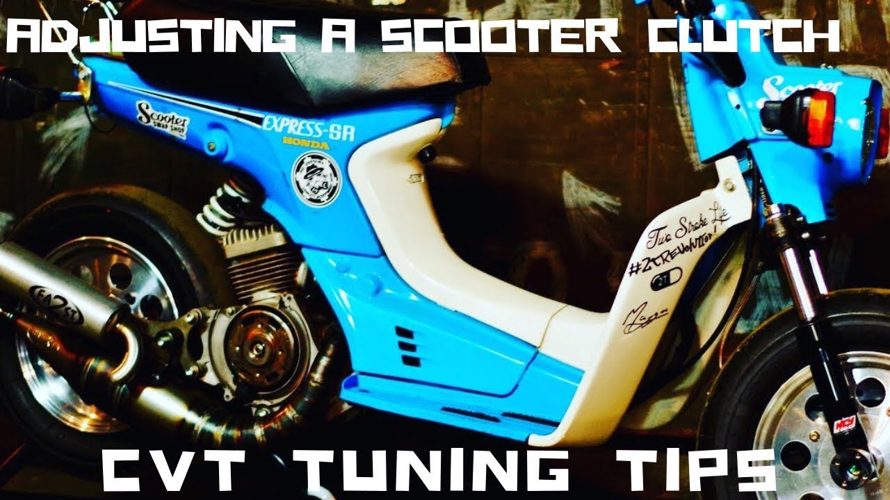 How to Adjust a Scooter Clutch CVT Tuning