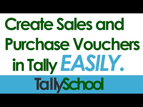 9 Creating Sales Vouchers In Tally – Creating Vouchers