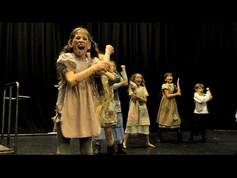 """It's the Hard Knock Life"" (Annie) COVER by Spirit Young Performers Company"