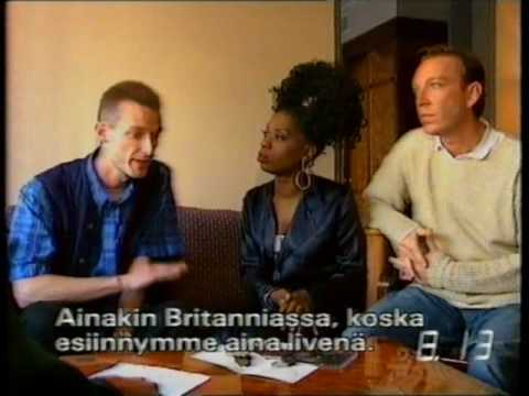 M People interview by Tomi Lindblom (1990s) / Finland