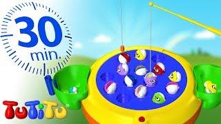Игрушки для малышей | Игра Рыболов | 30 минут ТуТиТу Игрушки