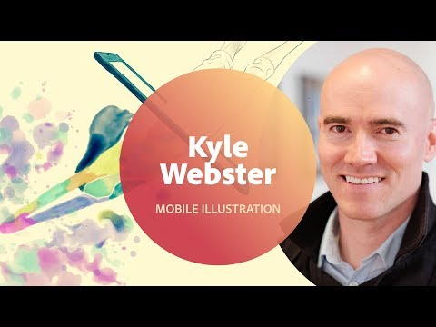 Live Illustration with Kyle Webster - 1 of 3