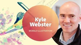 Live Illustration with Kyle Webster - 1 of 3