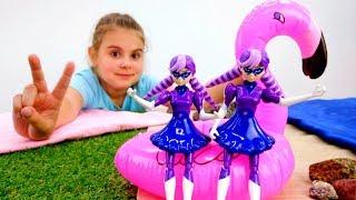 Тереза и Непогода на пляже - Идеи для кукол - Мультики для девочек