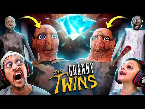 GRANNY 3: The Twins!!  FGTeeV vs. Bob & Buck the Diamond Thieves