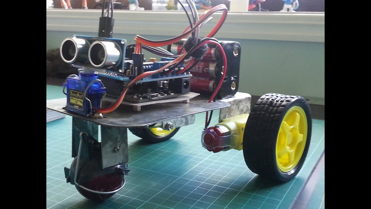 Arduino - Obstacle Avoiding Robot 4WD - Instructables