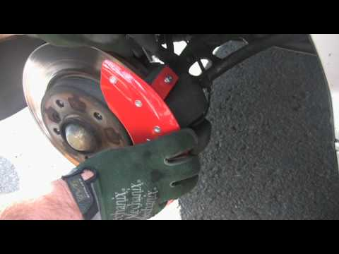 BMW  MGP Caliper Covers Installation
