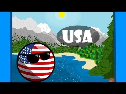 Countryball tours episode 9: United States of America