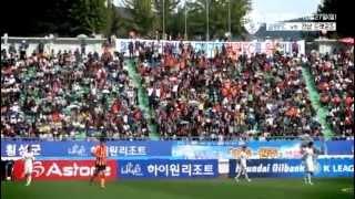 [터널캠] 2013 K리그클래식 31R 강원FCvs경남FC