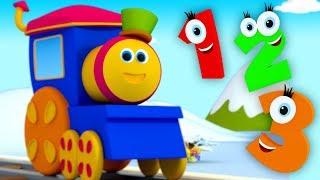 Bob le train | compter les numéros chanson | numéros 1 à 10 | éducative vidéo | Bob Counting Numbers