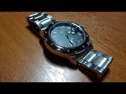 Добротные часы на стальном браслете. Распаковка с AliExpress.