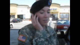 Soldier Surprises Dad for his Birthday