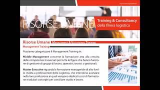 Presentazione Logistic Training Academy