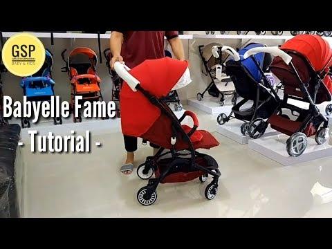 cara-menggunakan-stroller-babyelle-fame