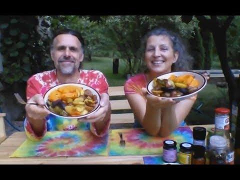 Recepty z dýně - Pečená dýně se zeleninou
