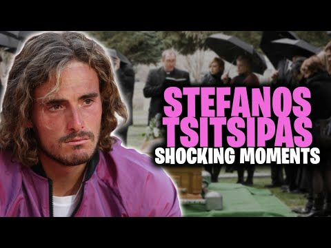 Stefanos Tsitsipas Most SHOCKING Moments No One Knew About! |