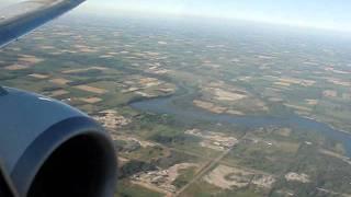WestJet Landing In London Ontario