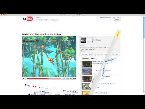 YouTube Custom Gadget : Wario Land: Shake It  Amazing footage!