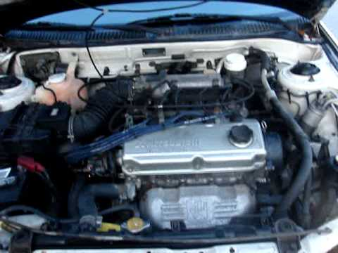 1996 Honda Fuse Box 1995 Mitsubishi Mirage White 1 8 Youtube