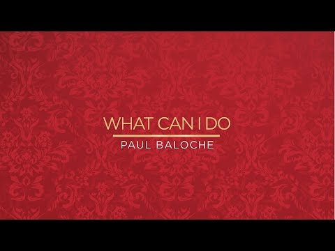 """""""What Can I Do (Christmas Version)"""" from Paul Baloche (OFFICIAL RESOURCE VIDEO)"""