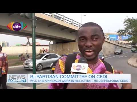 Is a bi-partisan committee approach the best way to solve the depreciating cedi problems?