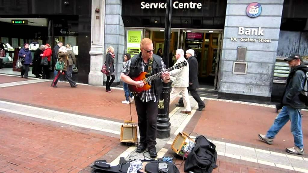 Gibson SG Supreme Lavaburst 2008 Jamming In Dublin Main Street