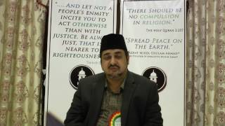 Message from Shiraz Ahmad Sb at Bangalore Peace Symposium 2017 by Ahmadiyya Muslim Community