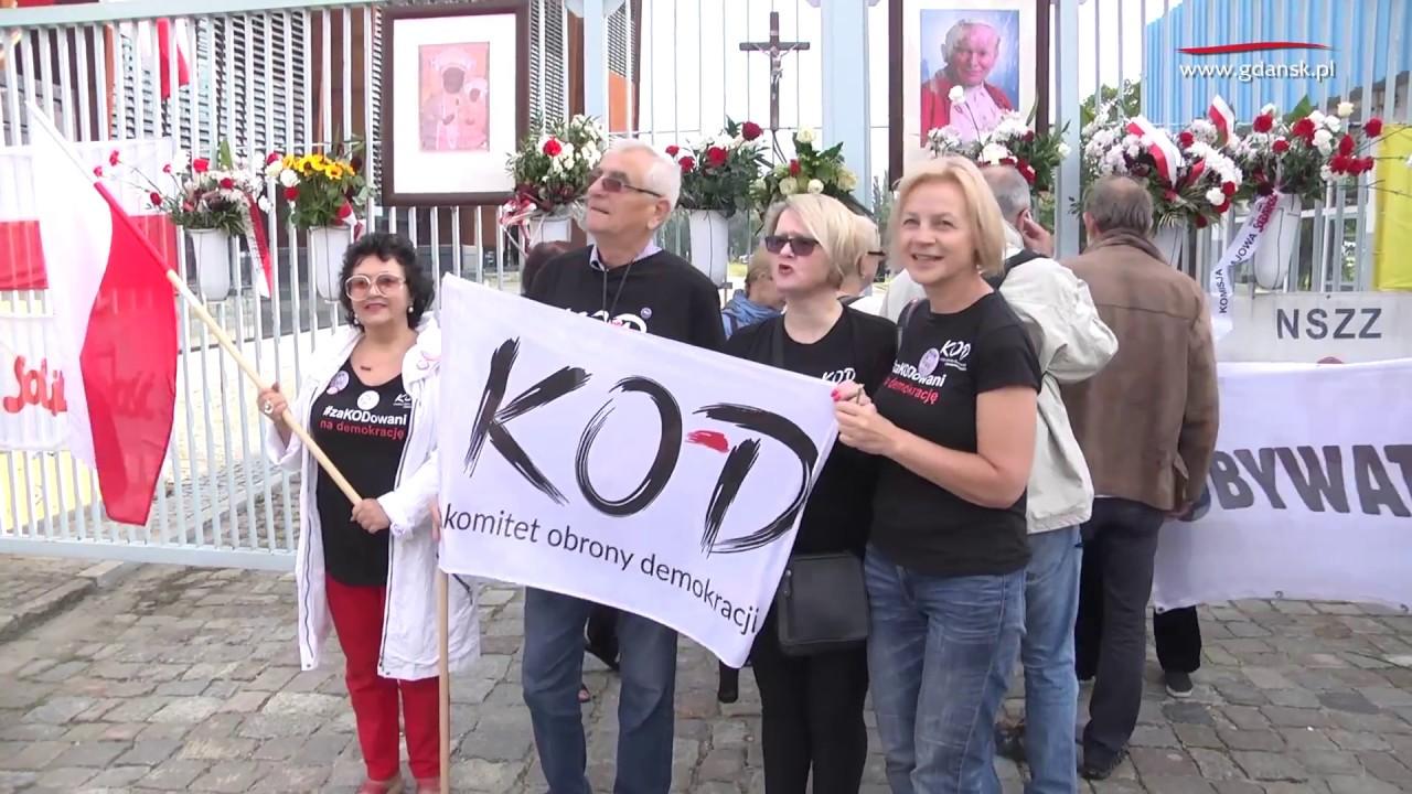 2017.08.31 Pl  Solidarności  Obchody 37  rocznicy Porozumień Sierpniowych