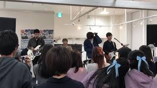 cellchrome「Aozolighter」ライブ@ららぽーと立川立飛