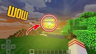 COMO DEIXAR O SEU MINECRAFT PE MAIS REALISTA ! (Minecraft Pocket Edition)