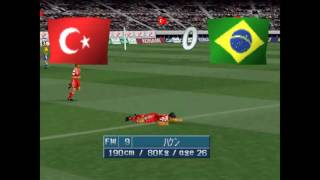 Winning Eleven 3 Final - Turquia x Brasil - PS1