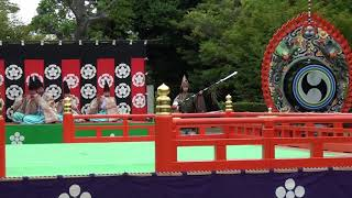 振鉾三節、雅楽、traditional japanese music、gagaku、美し国、三重、桑名、六華苑、2018春の舞楽会,多度雅楽会、時間 15分08秒