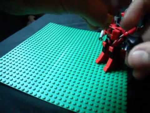 how to make a lego mech suit easy
