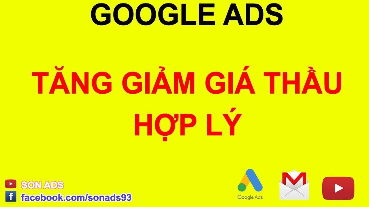Khi Nào Nên Tăng Giảm Giá Thầu Từ Khóa Trong Quảng Cáo Google Ads