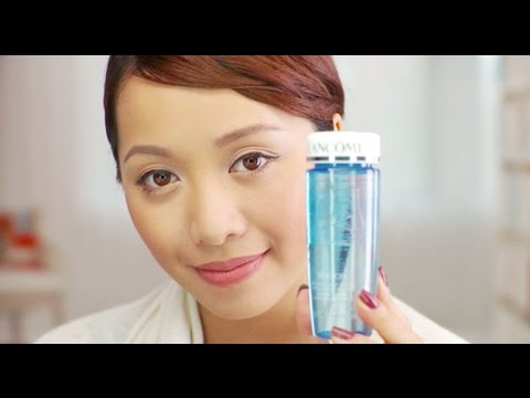 How to Use Lancôme Bi-Facil Eye Makeup Remover with Michelle Phan