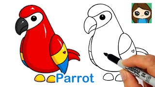 How to Draw a Parrot Roblox Adopt Me Pet