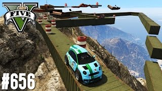 MOUNT CHILIAD SKY PARKOUR! (+DOWNLOAD) | GTA 5 - CUSTOM MAP RENNEN | Lusor Koeffizient
