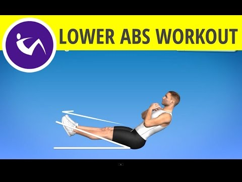 Lower Abs Workout for Men at home - Lose that Beer Belly and Build Strong Lower Abdominal Muscles