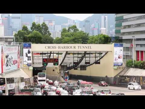 POAD Outdoor Ad in Cross Harbour Tunnel – KW1 & KW2 (Kowloon Side)