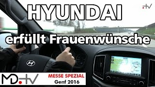 MD.MESSE SPEZIAL Unterwegs im Hyundai H 1 Travel