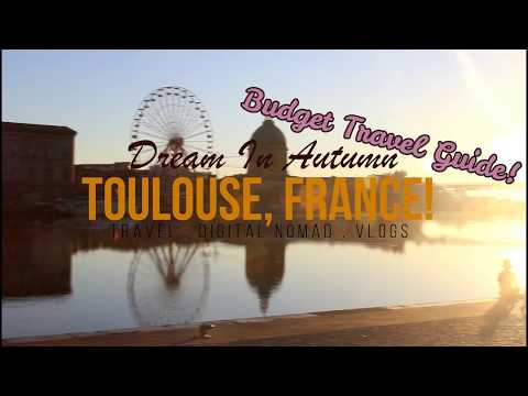 Low Budget City Guide to Toulouse, France! | FREE THING TO DO!