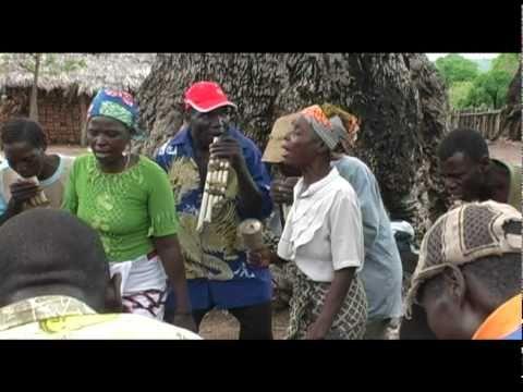 Ritual dance nsambo and panflutes Nyanga (Mozambqie)