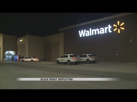 News: Shoplifting On Black Friday