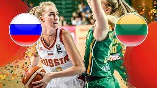 LIVE 🔴 - Russia v Lithuania - FIBA U16 Women's European Championship 2018
