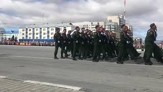 Парад Победы Южно Сахалинск