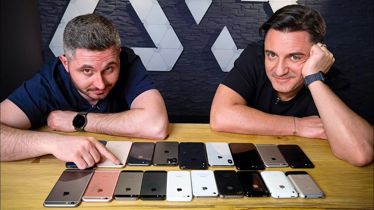 Istoria Apple iPhone - Review pe scurt cu 19 modele
