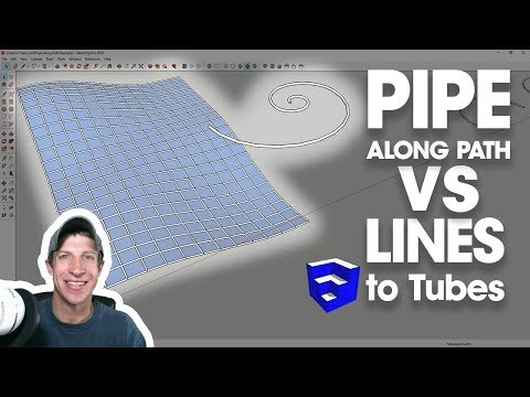 Pipe Along Path VS Lines to Tubes - Which Tube Creation