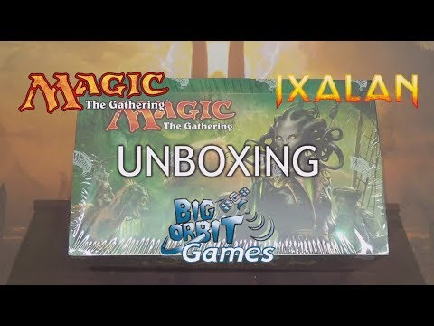 Magic The Gathering: Kaladesh Booster Unboxing from YouTube · Duration:  34 minutes 39 seconds