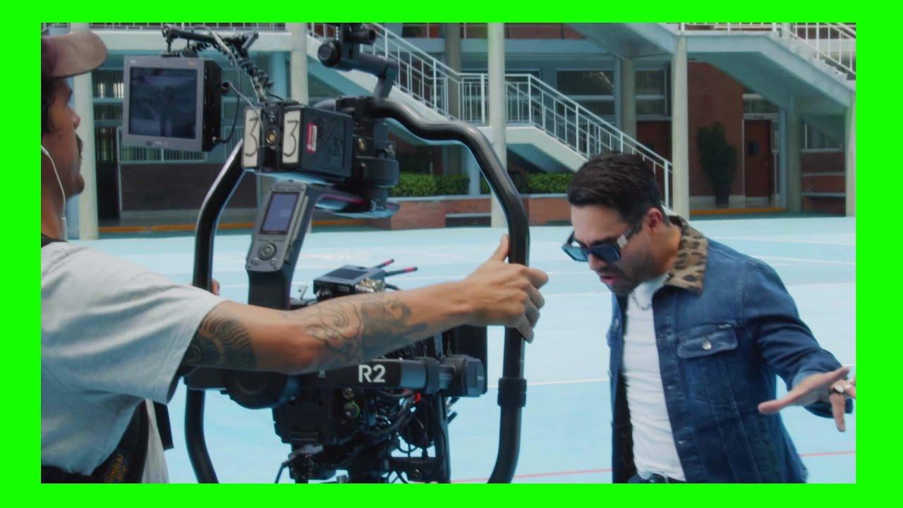 """BACKSTAGE del videoclip """"Las Locuras Mías"""""""